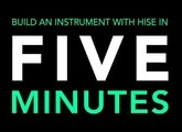 Build an instrument with HISE in 5 minutes