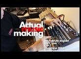 Making a hiphop beat on the DrumBrute Impact