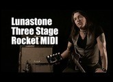 Lunastone Three Stage Rocket MIDI