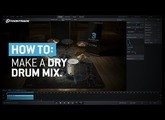 How to make a dry drum mix with Superior Drummer 3