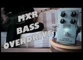 MXR Bass Overdrive M89 (Bass Demo)