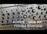 ALM018 - 'MUM M8' - Drums processing