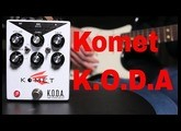 Komet KODA Overdrive Pedal demo video by Shawn Tubbs