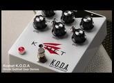 Komet KODA Clean to Crunch - Demo by Simon Gotthelf