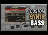 Making a Custom SYNTH BASS Patch w/ Spectrasonics Trilian & Ableton Live Tutorial | TCustomz