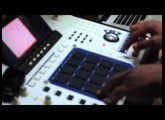 NAFIS making Beat with MPC 4000