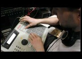 MPC 2000 XL french beatmaking (space art) by CARBU21