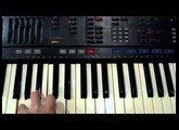 Yamaha PSR-4500 Accompaniment Chord Test