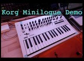 Korg Minilogue Unboxing and sound demo