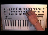 Korg Minilogue: Motion Sequencing (Part 8 of 8) [with CC]