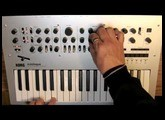 Korg Minilogue: Clicking (Part 7 of 8) [with CC]