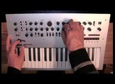 Korg Minilogue: Slider (Part 6 of 8) [with CC]