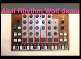 Akai Rhythm Wolf raw sound demo