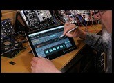TRK-01 Kick and Bass groove machine review running on the Surface Pro