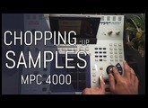 Sample Chopping & How to Sample // MPC 4000 Beginner Tutorial
