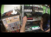 Rhythmic Ambient w/ Mutable Instruments Rings, Korg Volca Sample & Co