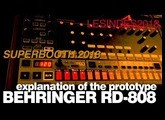 BEHRINGER RD-808 // INTRODUCTION EXPLANATION