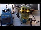 how to sound like my bloody valentine with guitar pedals