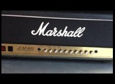 Marshall JCM 900 100 watt tube guitar amp head 4100 review
