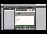 How to script an animated velocity meter in Kontakt