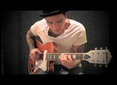 "RJ Ronquillo - ""Sleepwalk"" TAB AVAILABLE - Swart AST amp - Eastwood Airline Tuxedo guitar (HD)"