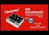 Quaverato Harmonic Tremolo Pedal Introduction by Zeppelin Design Labs