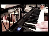 Laura Palmer Theme played with Scarbee Mark I