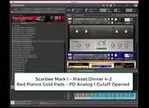 Testando lib Scarbee Mark I + lib Red Pianos Gold