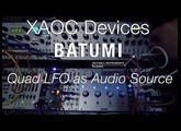 XAOC Devices BATUMI Quad LFO as Audio Source