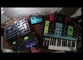 Moog Grandmother, Digitone, Digitakt & Peak - A 45 minute set