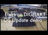 ELEKTRON DIGITAKT - OS UPDATE Démonstration