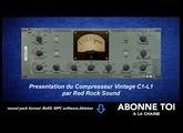 """abc du beatmaking """"propellerheads Presentation du Compresseur Vintage C1-L1 par Red Rock Sound"""""""
