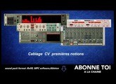 "abc du beatmaking ""propellerheads  Cablage CV premiere notion partie1"""
