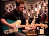 Fender FSR Telecaster Deluxe Aqua Flake