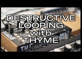 Destructive Looping with the THYME, Toyota Vangelis live