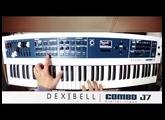 DEXIBELL J7 COMBO - Jamming Part 2 - Hammond Piano Rhodes Brass ( Synth Cloud )