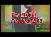 Tokai Firebird FB45 test with Fender Vaporizer