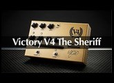 Victory V4 The Sheriff Pedal Preamp – Full Demo With Rabea Massaad & Martin Kidd