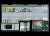 Novation Launchpad - Testing out with an Akai APC40