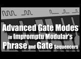 Impromptu Modular's Advanced Gate Modes