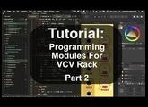 Tutorial: Programming Modules for VCV Rack - Part 2