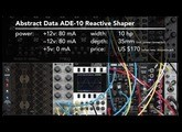 Abstract Data ADE-10 1/4: Overview + Input (LMS Eurorack Expansion Project)