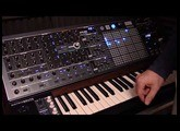 Matrixbrute: Analog Stereo Delay & Harmonic Series LFO Waveshaping