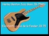 Harley Benton Jazz Bass JB-75MN Présentation