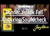 Donner Yellow Fall - Analog Delay : Soundcheck