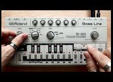 Roland TB-303 Bass Line In Action