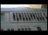 Dj Mylar-Freak test The Roland TR-727