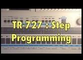 TR 727   Step programming