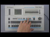 Roland TR-727 Rhythm Composer with DP-2 Pedal Switch