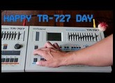 Happy Roland TR-727 Day!